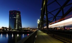 Euro zone banks must brace for profit hit: ECB