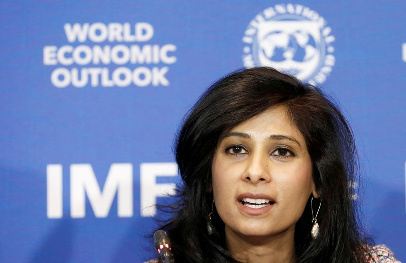 IMF sees less severe global contraction but worsening outlook for many emerging markets