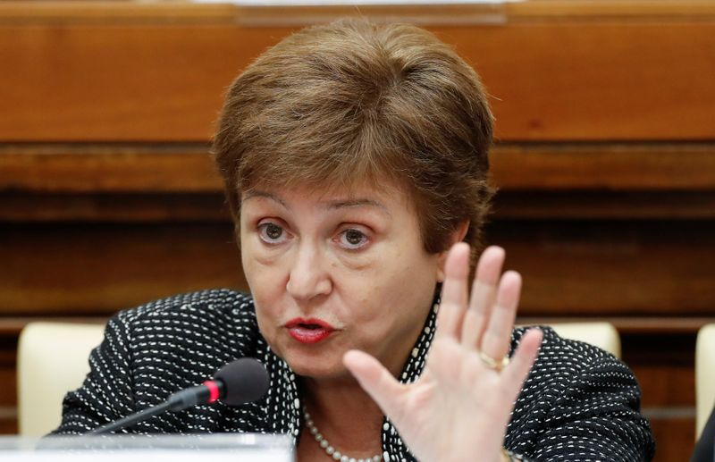 IMF's Georgieva says private creditors, China need to fully participate in debt relief