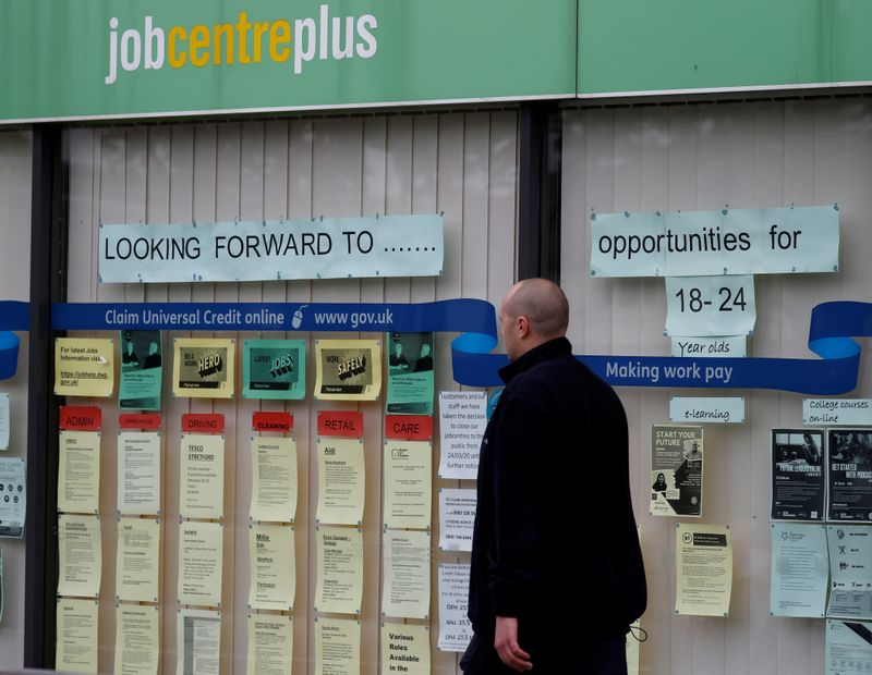 UK says jobs furloughed at end of August could reach 3.7 million