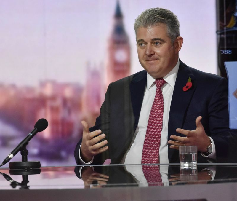 A good chance we can get a deal with EU, says UK minister Lewis