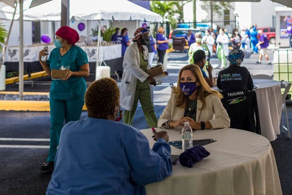 The Race for Miami's Perennial Tossup Seat Starts Leaning Democratic