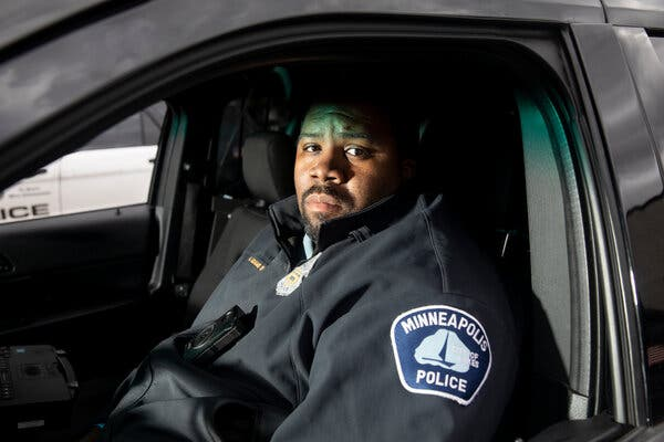 As a Coach and a Cop in Minneapolis, Where Would He Draw the Line?