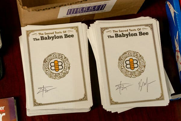 What 'The Babylon Bee' Thinks Is So Funny About Liberals