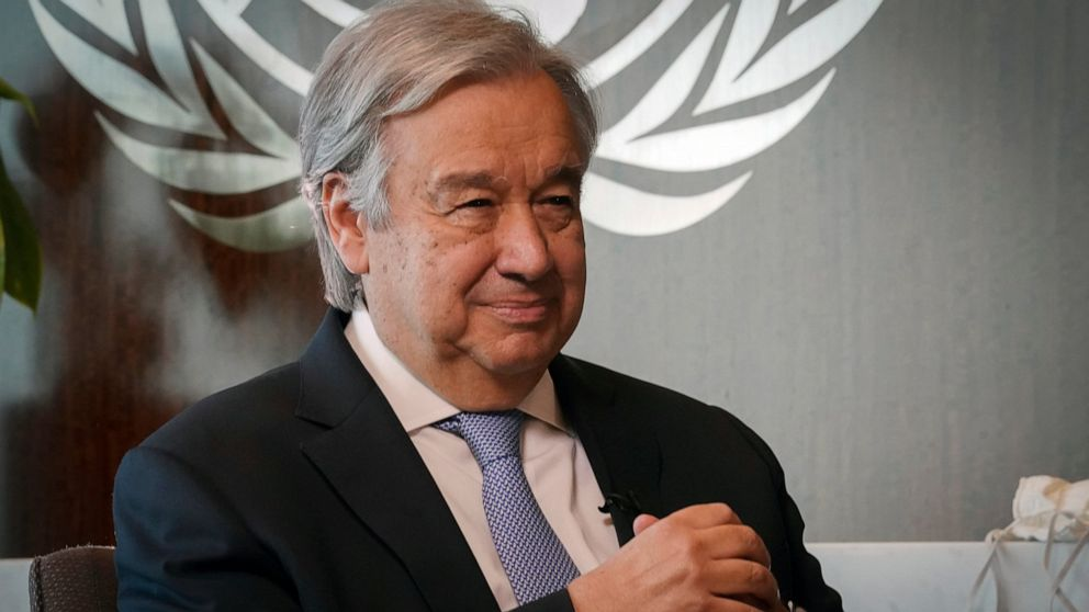 UN chief says G20 leaders must coordinate to fight COVID-19