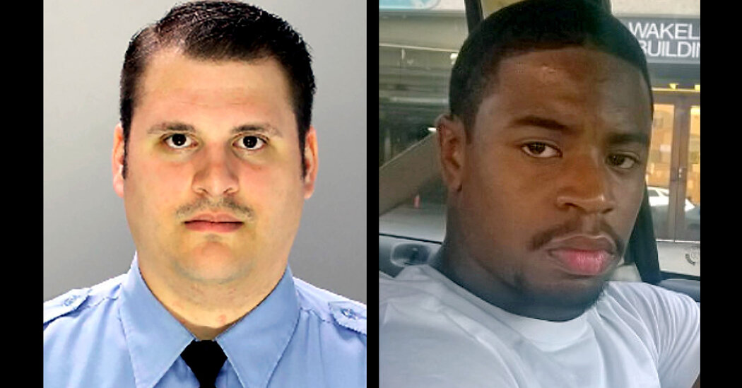 Former Philadelphia Officer Charged With Murder in 2017 Shooting