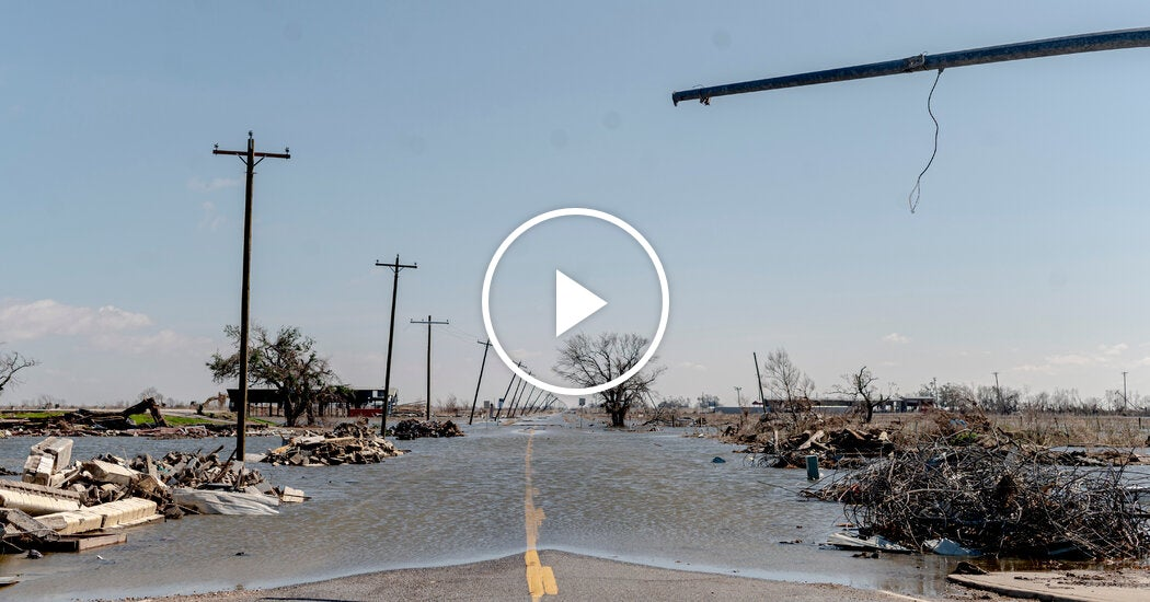 'We're Getting Back Up': Louisiana Residents Face Delta Damage