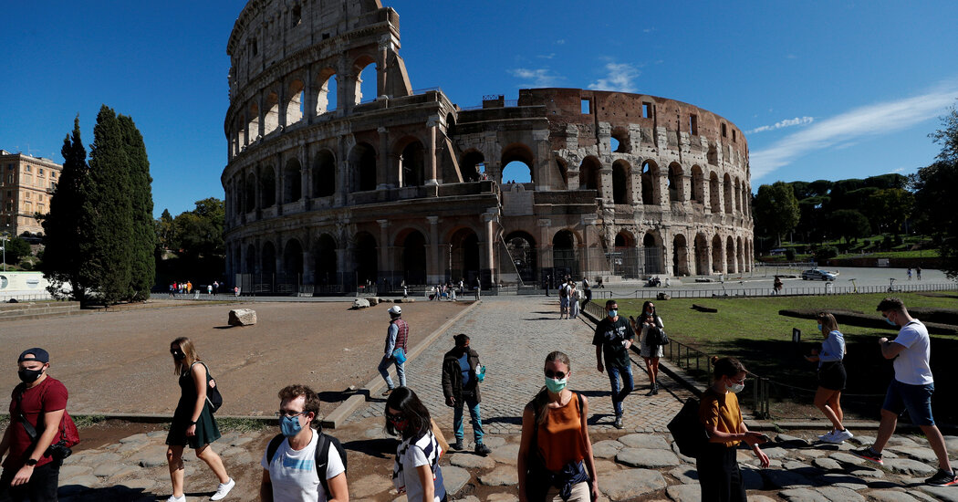 Italy tightens rules for the second time in a week to slow infections.