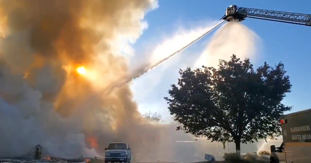 At Least 3 Injured in Explosion at Virginia Strip Mall