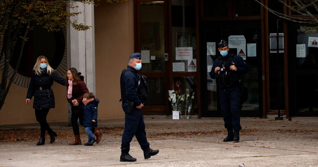 Suspect Stalked French School Before Beheading Teacher, Officials Say