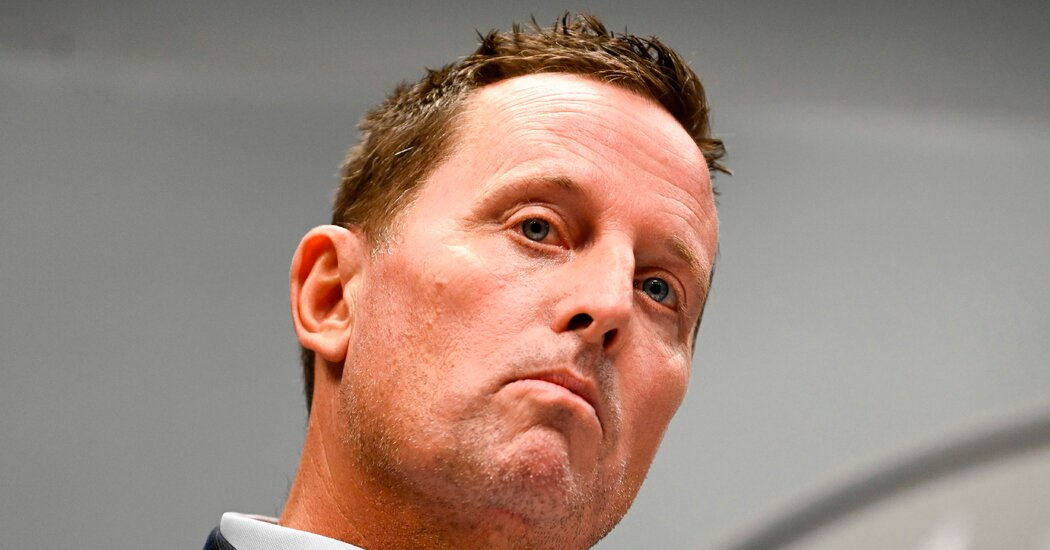Grenell Pursued Talks Over Change of Power in Venezuela