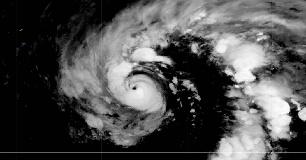 Hurricane Epsilon, a Category 2, Makes a 'Wobbly' Northwest Turn in the Atlantic