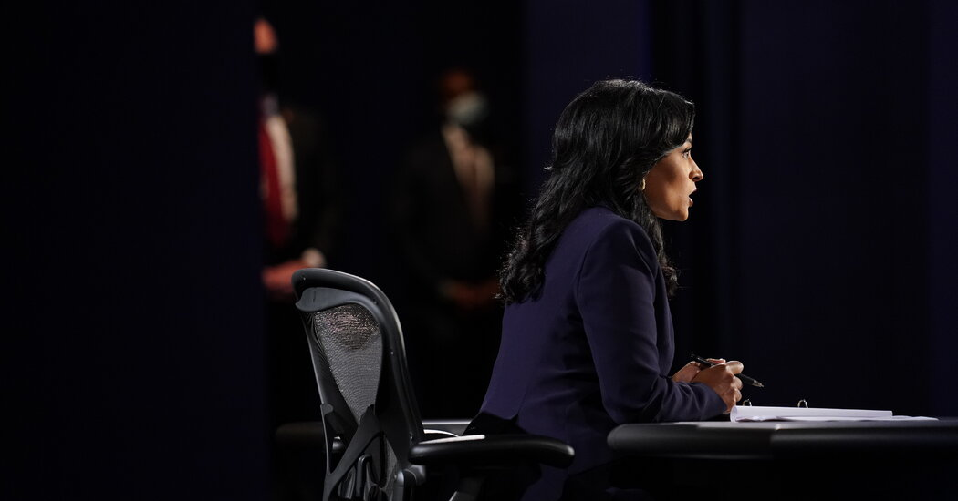 Addressing systemic racism, Kristen Welker asks the candidates about 'The Talk.'