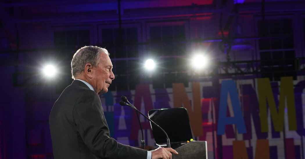 Bloomberg Funds Last-Minute Advertising Blitz for Biden in Texas and Ohio