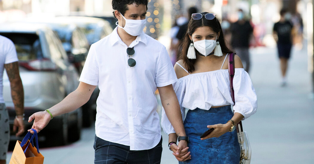 Most Americans have been wearing masks since spring, the C.D.C. says.