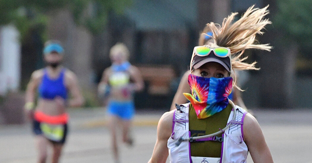 How to Run a Race in a Time of Surging Coronavirus