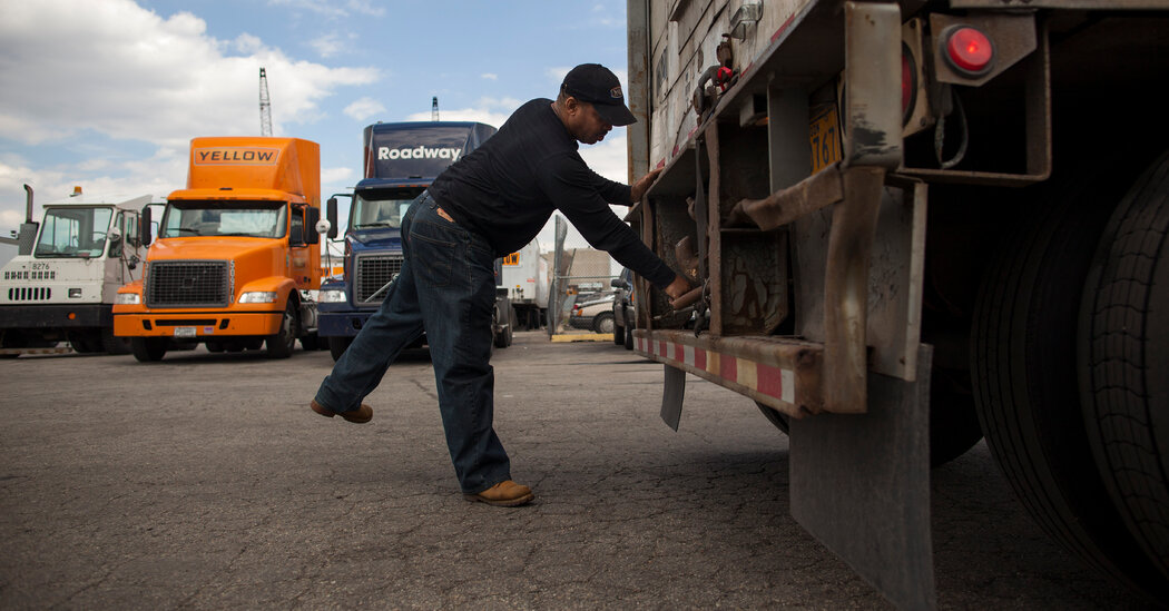 Pentagon Offers Little Rationale for Trucking Firm Bailout