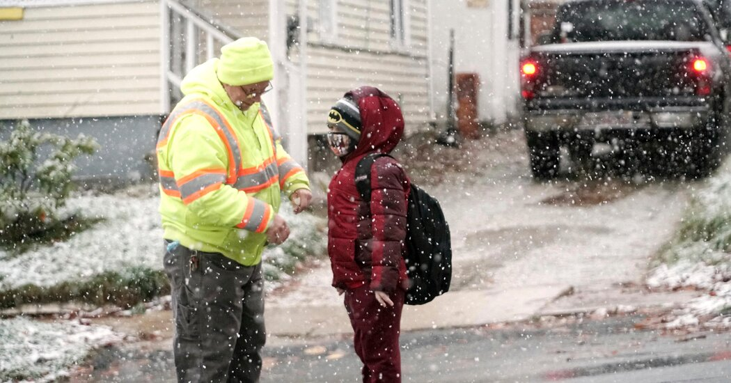 It's Snowing in New England, but Election Day Looks Sunny for Much of U.S.
