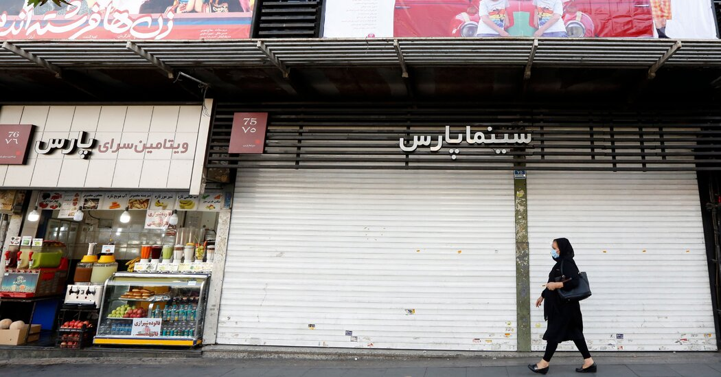 Iran sets new death and infection records, as much of Tehran shuts down.