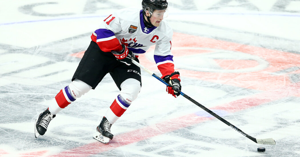 N.H.L. Draft: Rangers Select Alexis Lafreniere With First Overall Pick