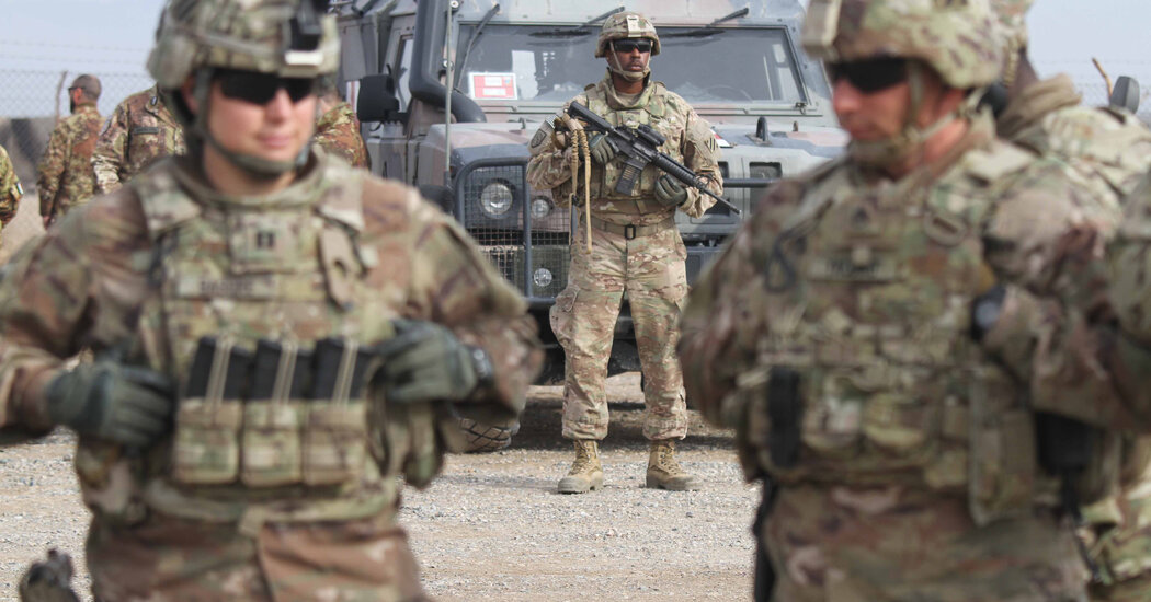 U.S. Seeks to Draw Down Its Troops in Afghanistan to 2,500 by Early 2021