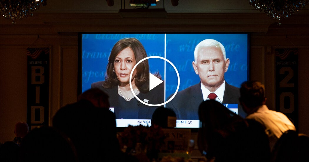 Harris and Pence Clash on Climate Change