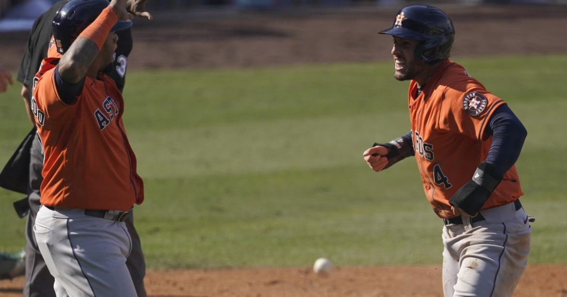 ALDS: George Springer, Carlos Correa rally Astros past A's in opener