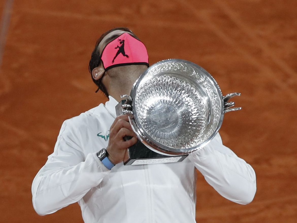 Rafael Nadal wins 2020 French Open to tie Roger Federer with 20 major titles