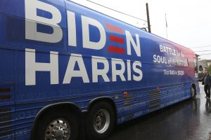 Video: Trump Supporters Tried to Run Biden Bus 'Off the Road'