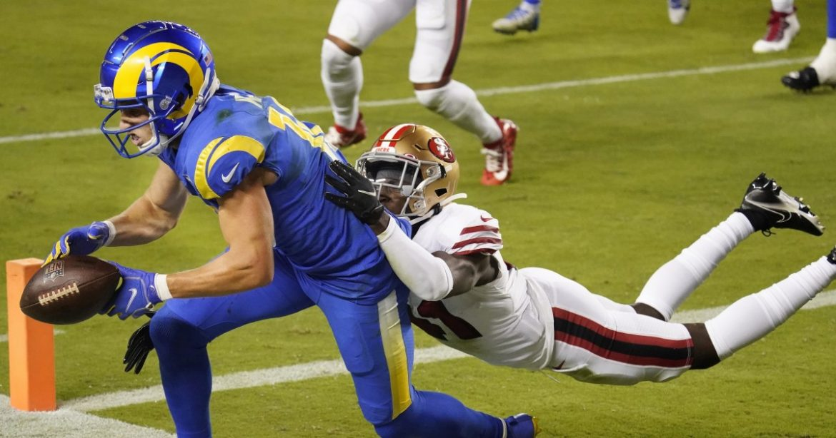 Jared Goff and Cooper Kupp 'little bit out of sync' in Rams' loss