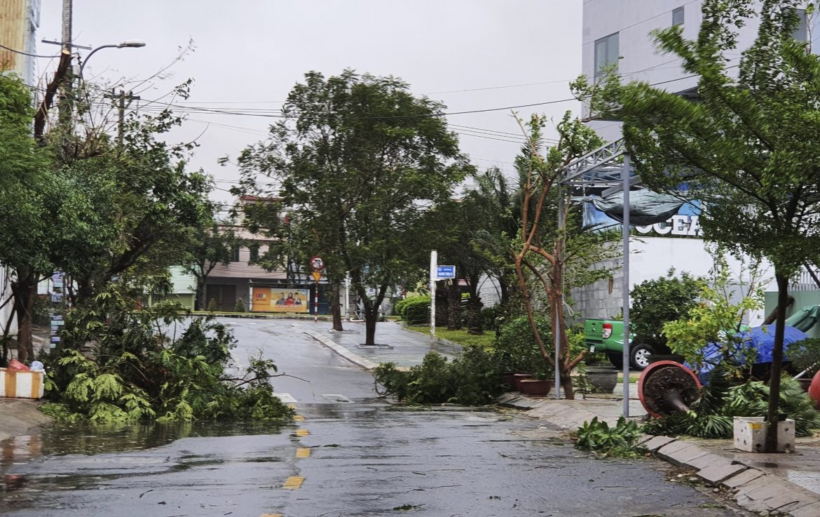 Strong typhoon slams Vietnam; at least 2 dead, 26 missing
