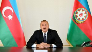 Azerbaijani president lays out conditions for Armenia cease-fire
