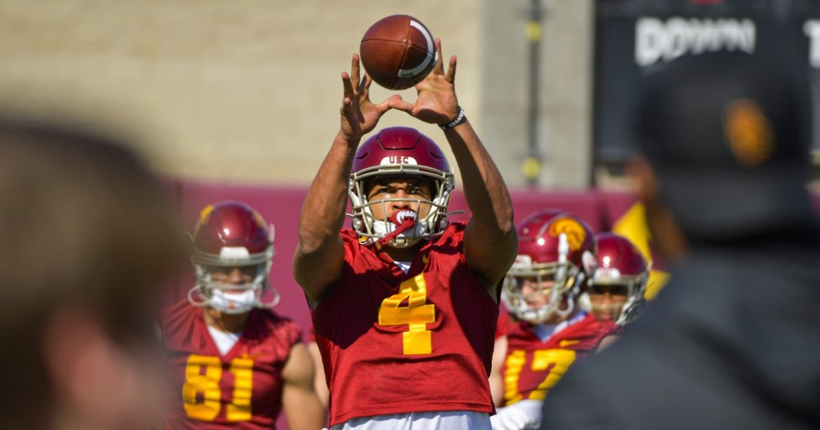 USC is deep at wide receiver. Will that affect how Trojans use Bru McCoy?