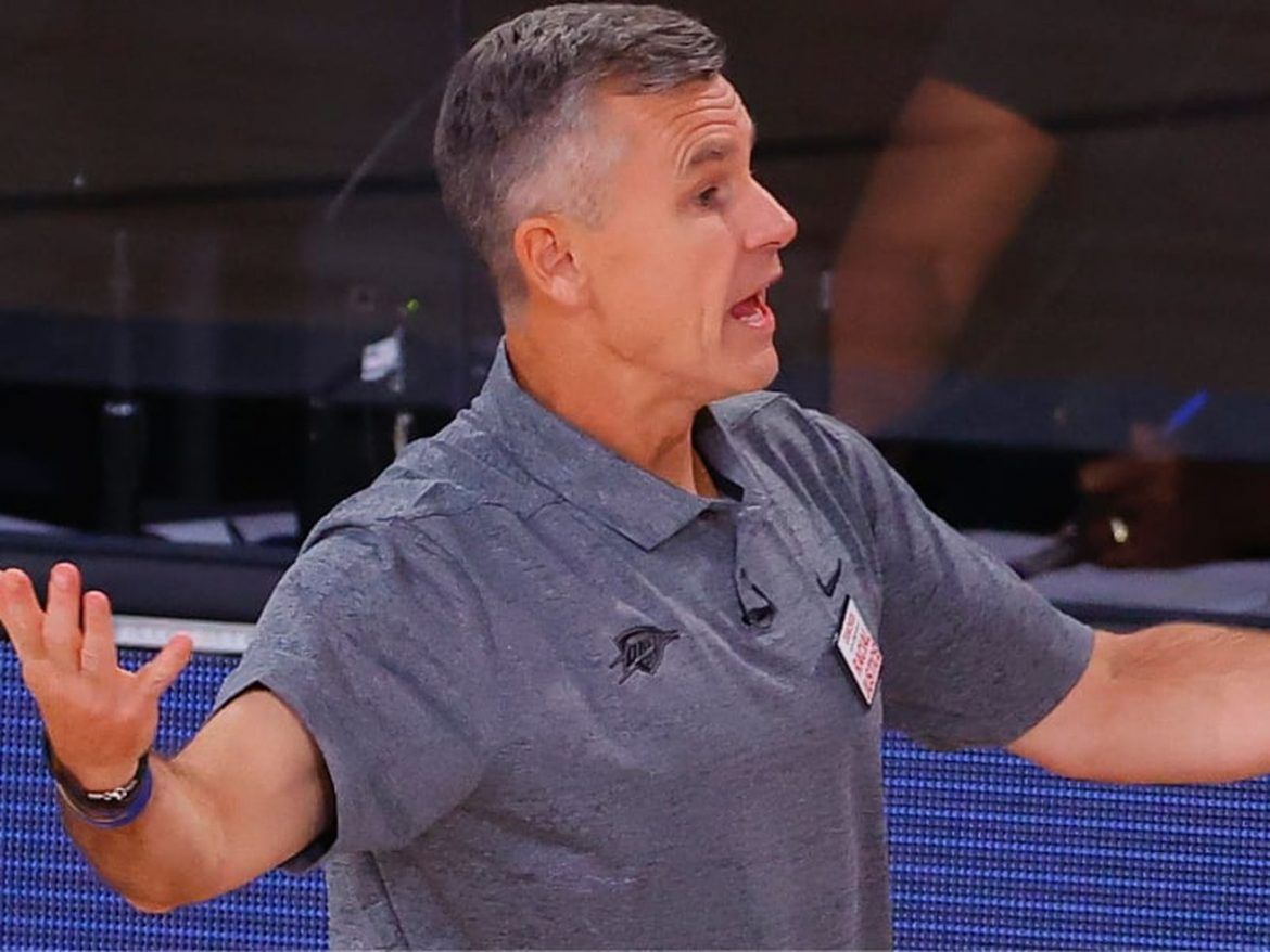 New Bulls coach Billy Donovan has started the staff shakeup