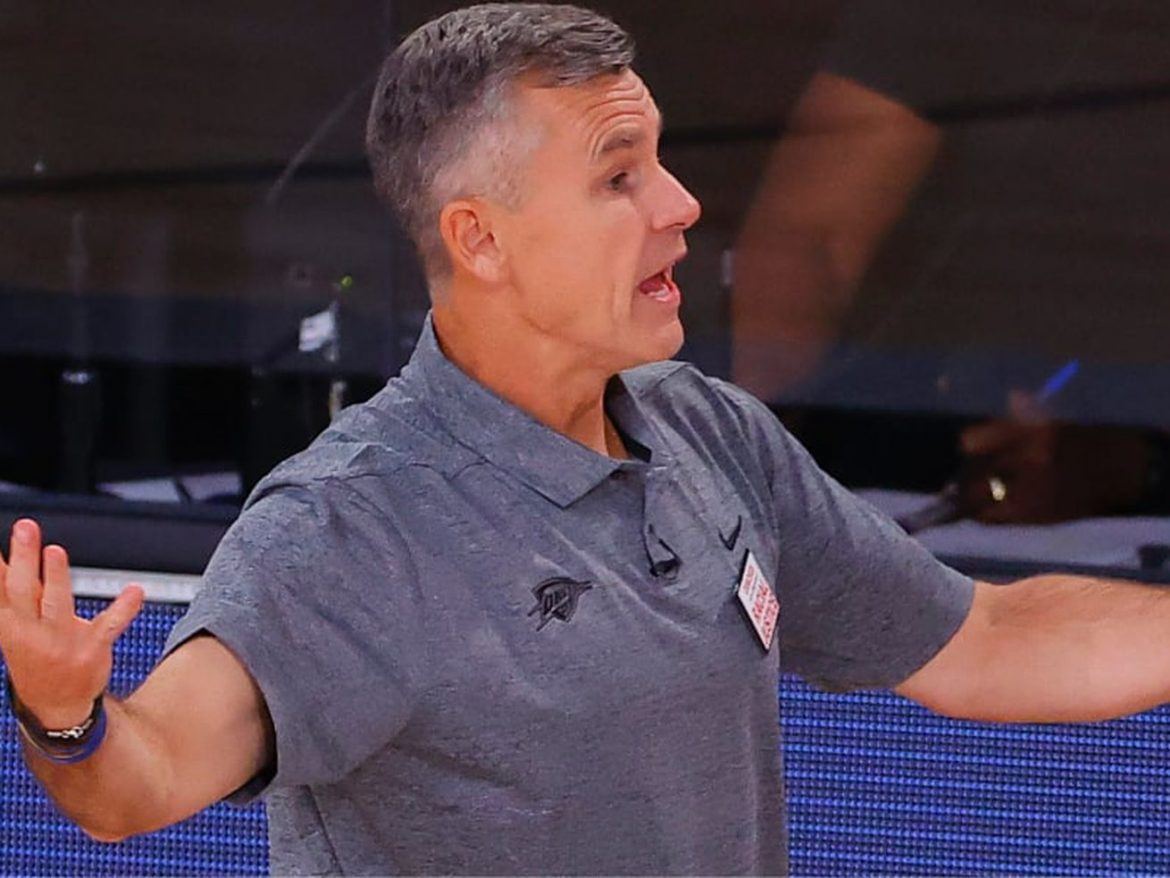New Bulls head coach Billy Donovan has started the staff cleanup