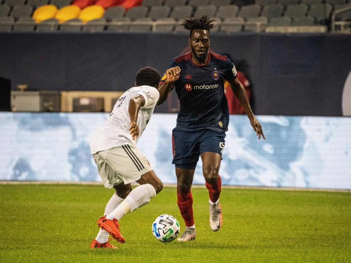 Chicago Fire's CJ Sapong fueled by whirlwind