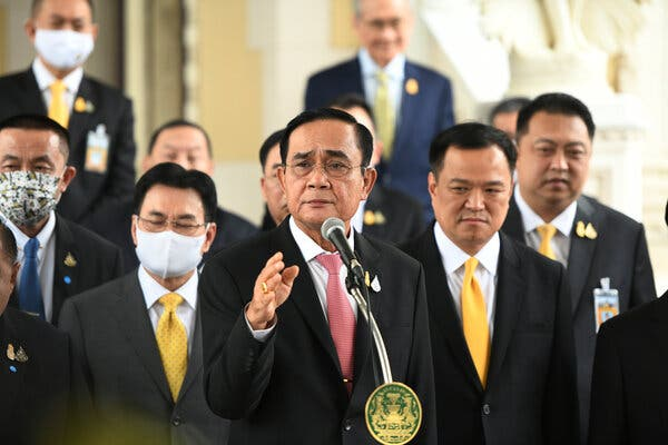 Thailand's Leader Offers End to Crackdown on Pro-Democracy Protesters