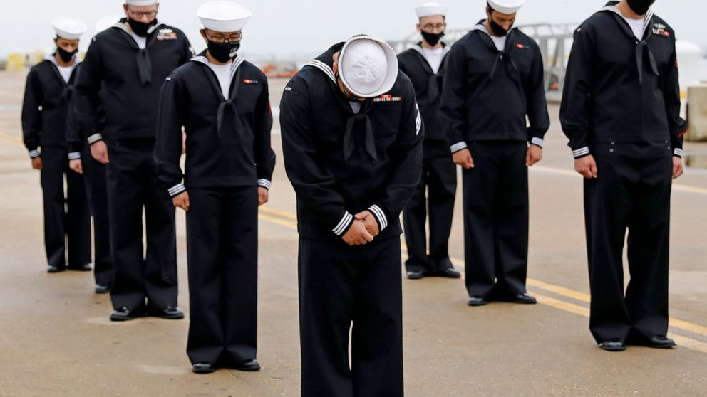 US Navy holds remembrance of 2000 USS Cole terror attack