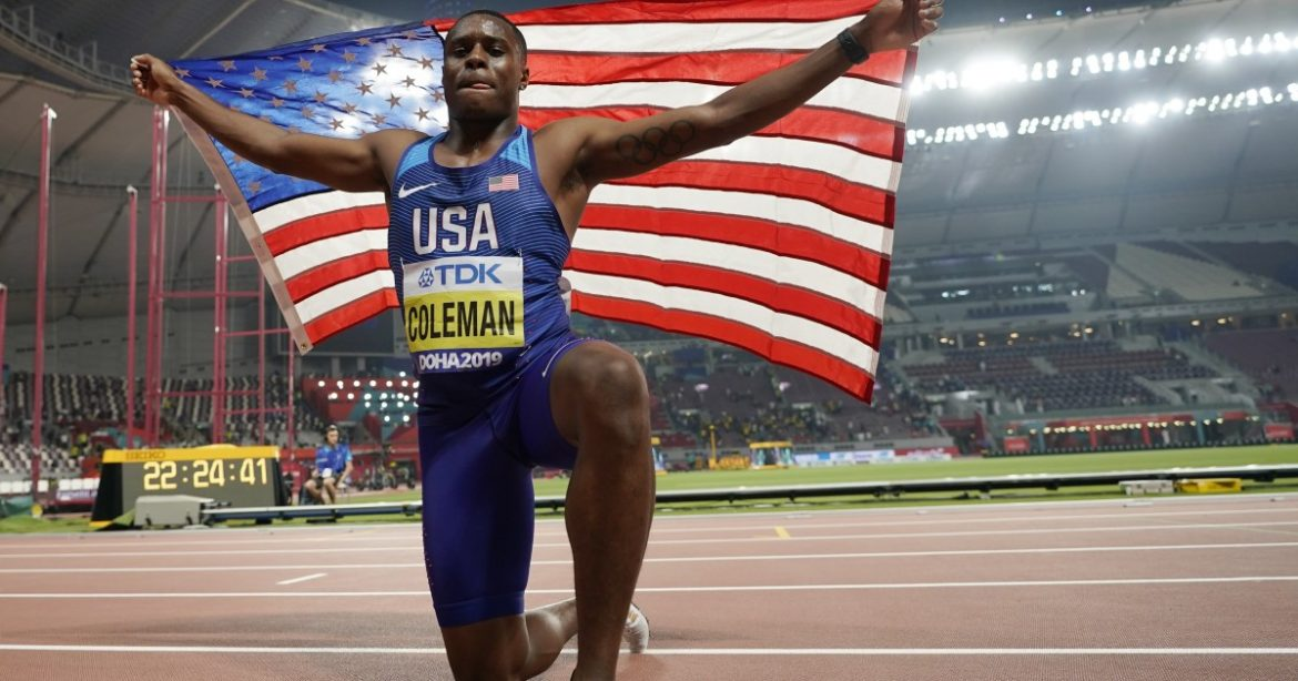 U.S. sprinter Christian Coleman draws two-year ban, will miss Tokyo Olympics