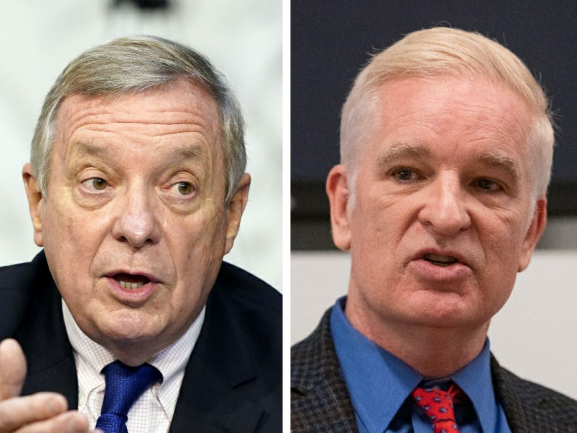 Durbin faces long-shot bid from 'truly independent' GOP challenger Curran, Willie Wilson and two others