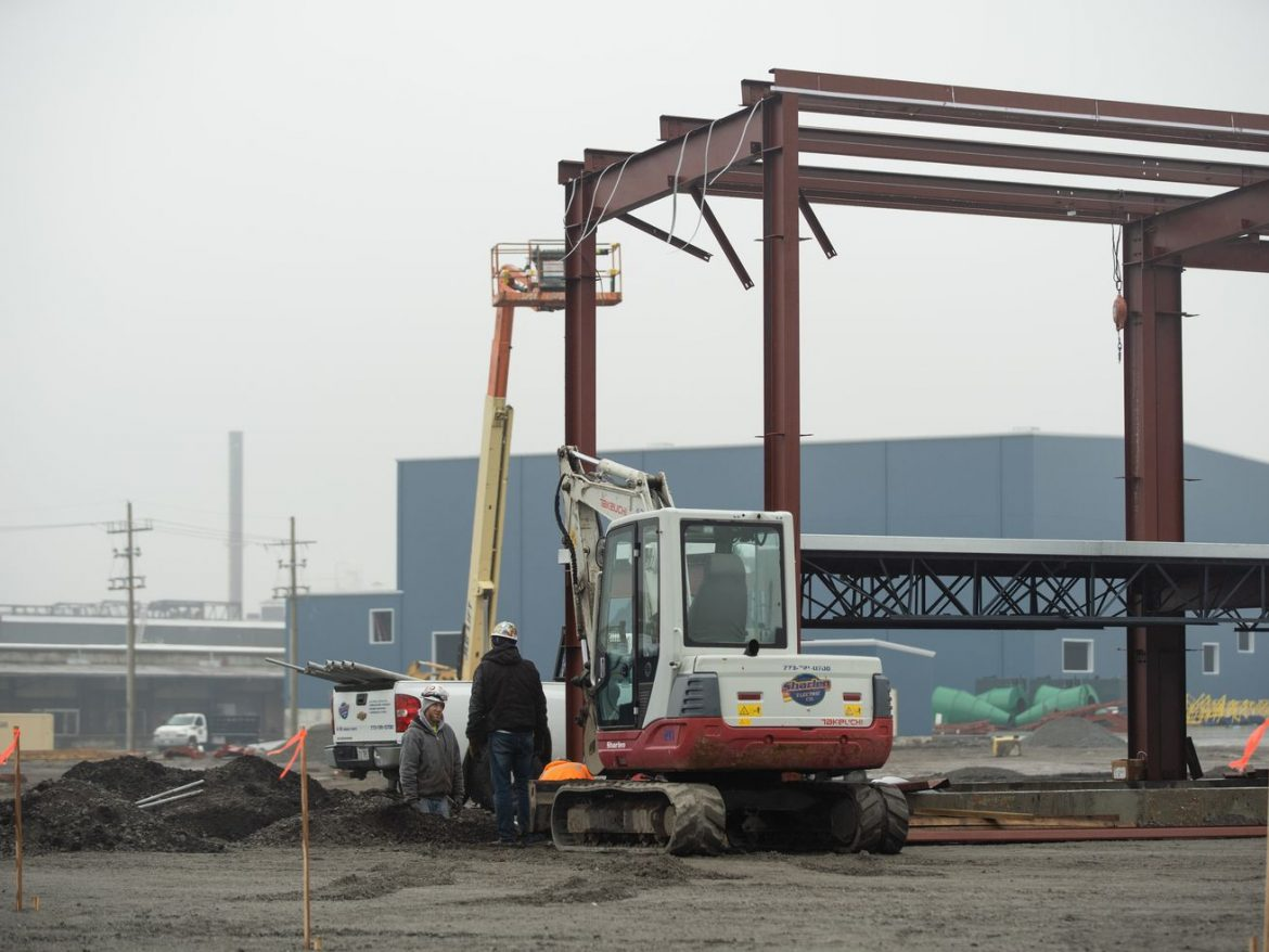 Construction of General Iron's new home on Southeast Side moving at full steam ahead