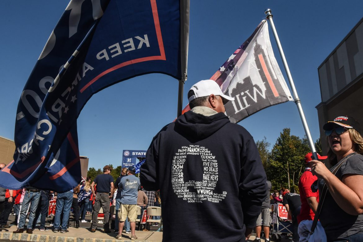 Trump Was Asked, Once Again, to Denounce QAnon. Once Again, He Refused