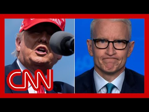 Anderson Cooper on Trump rallies: Wow, he has no shame