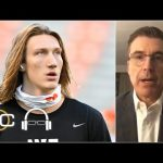 Would Trevor Lawrence play in Clemson vs. Notre Dame if he can't practice? | SC with SVP
