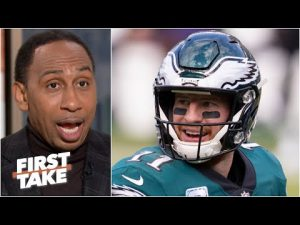 'Carson Wentz won't live it down' if the Eagles lose to the Cowboys – Stephen A. | First Take