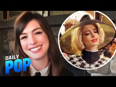 """Anne Hathaway Talks Pregnancy, """"The Witches"""" & More 
