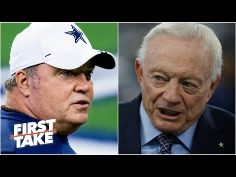 First Take debates whether Jerry Jones should move on from Mike McCarthy