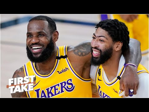 Will LeBron or Anthony Davis win Finals MVP if the Lakers win Game 5? | First Take