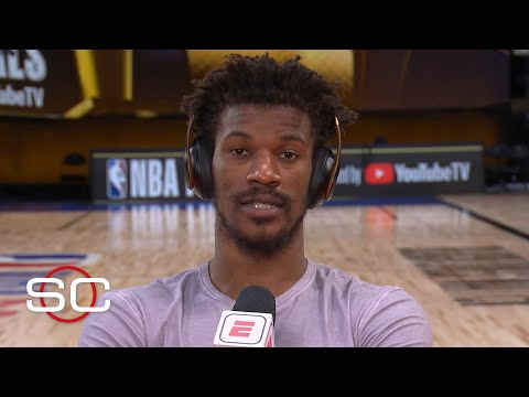 Jimmy Butler reacts to Game 5, says Heat will win Game 6 | SportsCenter