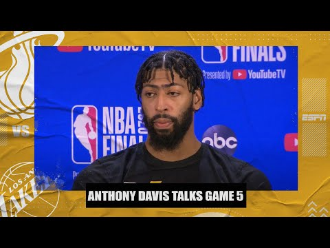 Anthony Davis talks about his heel, Lakers' Game 5 loss to Heat | 2020 NBA Finals